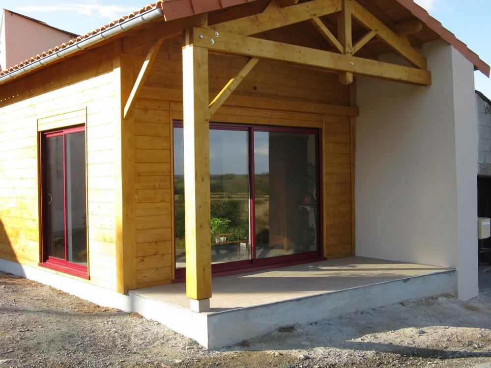 Extension maison (2013) - La Chapelle Largeau (79) |
